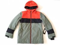 Quiksilver Boys Sycamore 10K Snowboard Jacket Winter Youth Size L/12