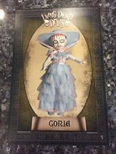 LIVING DEAD DOLLS RESURRECTION X GORIA POSTCARD #1-B NO STAMP FREE SHIPPING