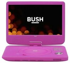 "Bush 10"" Portable DVD Player Unique Tilt & Swivel Screen USB Port - Pink"