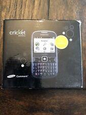 Samsung Comment SCH-R380 - Dark Gray (Cricket) Cellular Phone