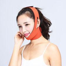 Elastic Facial Thin Face Slim Bandage Mask Belt Shape Lift Reduce Double Chin