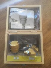 New 2 Pc Ogee Raised Panel & Glue Joint Bit D1631