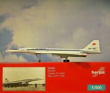 Herpa Wings 1:500 Tupolev TU-144S  Aeroflot CCCP-77109  533324  Modellairport500