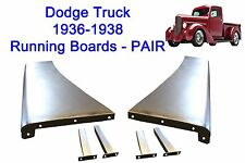 1936 1937 1938 Dodge Pickup Truck Steel Running Board Set 36,37,38 - Made in USA