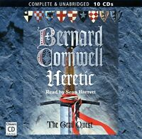 Heretic: by Bernard Cornwell - Unabridged Audiobook - 10CDs