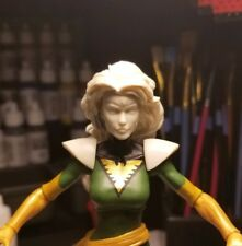 Marvel Legends Custom Jean Grey Head Cast and shoulder pads unpainted