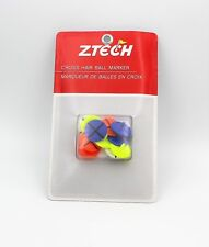 Z Tech Cross Hair Ball Markers Assorted Colors