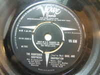 "Righteous Brothers – (You're My) Soul and Inspiration 1966 7"" Verve VS 535"