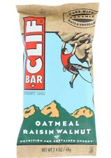 CLIF BAR Oatmeal Raisin Walnut **40 COUNT** Exp 2018 68g protein bars