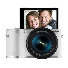 SAMSUNG NX300M Digital Smart Camera 16-50mm Lens Wi-Fi -White