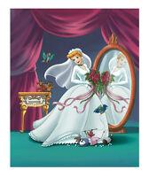 WALT DISNEY ART PRINT - Cinderella - My Perfect Wedding 11x14 Bride Poster