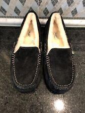 Women's UGG Black Ansley Slippers- size 6 -#3312