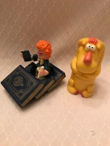 Vintage Berger King Toys - 1990 & 1991, Lion and Encylopedia