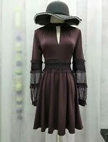 Gathered Pleated Dress