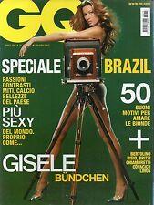 GQ 2006 79.GISELE BUNDCHEN,AYRTON SENNA,FERGIE,ELEONORA ABBAGNATO,MARAT SAFIN