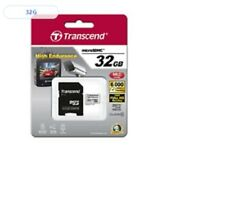TRANSCEND INFORMATION 32GB High Endurance Micro SD Memory Card with Adapter_Va