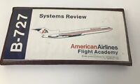 Vintage 727 Sytems Review Flight Academy Training Tapes 1980 American Airlines