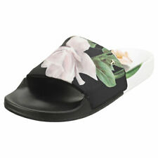 Ted Baker Lamali Womens Black Synthetic Slide Sandals