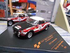 FIAT 124 Spider Abarth Rallye San Remo 1973 #12 Verini Pirelli Vitesse 1:43