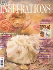 INSPIRATIONS MAGAZINE issue 21 1999 pattern attached BEAUTIFUL EMBROIDERY