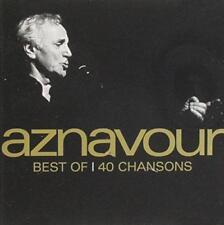 Charles Aznavour - Best Of - 40 Songs (NEW 2CD)
