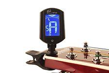 AFINADOR CROMATICO DIGITAL LCD SISTEMA PINZA 440Hz GUITARRA INSTRUMENTOS CUERDA