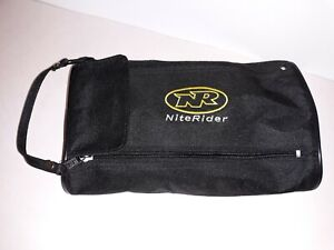 NR-NITE RIDER Bicycle LIGHT /High Powered/RECHARGEABLE NIMH-NICAD Battery- Black