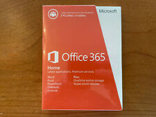 Microsoft Office 365 (2014) Home PREMIUM Subsciprtion 5 User 1 Year - SEALED