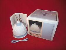 1D Cc Lladro Campanita Navidad Nativity Bell Ornament With Box & Ribbon 1990