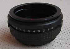 TILT adapter Kiev 88 lens for Nikon Canon EOS Pentax M42 Sony Alpha Minolta NEW