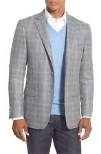 Hart Schaffner Marx New York Classic Fit Plaid Wool Sport Coat NWT $495  SZ 46R