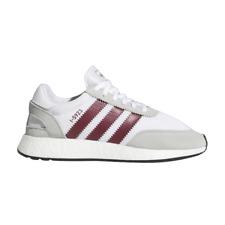 adidas I-5923 Iniki Runner White Burgundy Red Grey Black D97231 sz 8.5 Running
