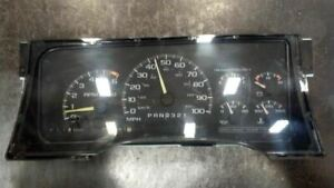 Speedometer 8-350 Cluster Fits 96 CHEVROLET 1500 PICKUP 7419797