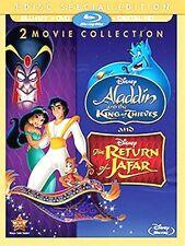 Aladdin King of Thieves & Return of Jafar (Blu-ray / DVD / Digital, 2016) NEW