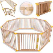 KIDUKU Parque de Bebé XXL 8 Piezas Corralito Plegable Puerta Incluida - (90 x 70 x 20,5 cm)