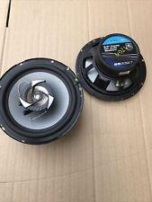 Sub-Zero hielo Car Audio Altavoces de 6.5 Pulgadas Coaxial 220W Negro Gris