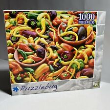 """Puzzlebug 'Mixed Chili Peppers' Jigsaw Puzzle 1000 Pieces 18.25""""x23"""" LPF"""