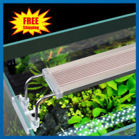 28-75CM Aquarium LED Light Lighting Full Spectrum Plant Fish Tank Marine Lamp