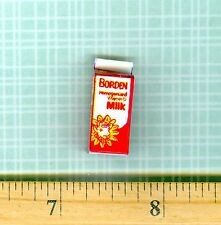 DOLLHOUSE Miniature SIZE MILK Carton Box