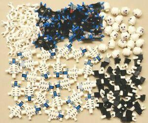 x25 Lego Krazi Ninjago Minifigs BRAND NEW NINJA SKELETON MINIFIGURE GUYS 2116