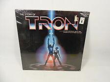 SEALED THE STORY OF TRON SOUNDTRACK OST LP WALT DISNEY 1982 VISTA DISNEYLAND
