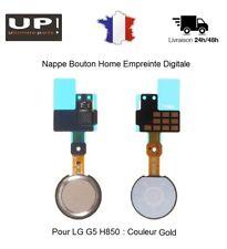 Pour LG G5 H850 Nappe Bouton Home Empreinte digitale Fingerprint Gold Or
