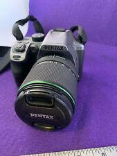 Pentax K K-70 24.0MP Digital SLR Camera -Silver w/ LENS (#2158)