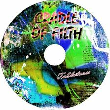 CRADLE OF FILTH BASS & GUITAR TAB CD TABLATURE GREATEST HITS BEST ROCK MUSIC