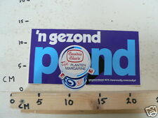 STICKER,DECAL GOUDA'S GLORIE 'N GEZOND POND LARGE