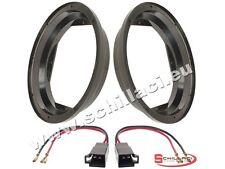 Adattatori altoparlanti Casse 200 mm + connettori  per Seat Leon 1M anteriori po