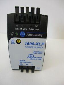 ALLEN BRADLEY 1606-XLP30E POWER SUPPLY W/DIN RAIL NEW