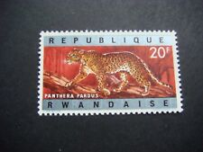 Rwanda 1964 Animals 20f Leopard  MH SG 68 see scans cat £3.25