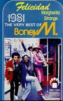 Boney M. ..The Very Best Of.. Import Cassette Tape
