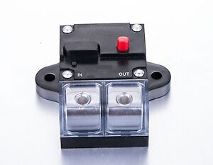 Tulead Circuit Breaker 20A Fuse Holder Switch Fuse Block Inline Fuse Inverter for Video Audio